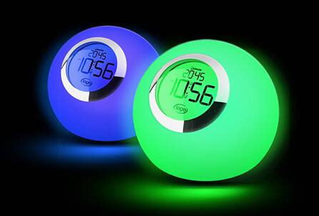 Newer Color Changing Mood Light Alarm Set