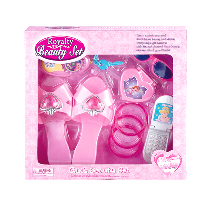 Newest Design Plastic Toy Beauty Set