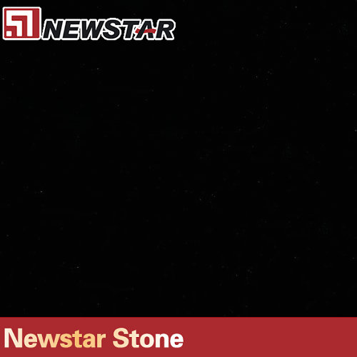 Newstar Pure Black Quartz Stone Tile