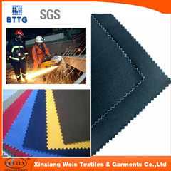 Nfpa70e Modacrylic Cotton Flame Retardant Fabric For Workwear Coverall