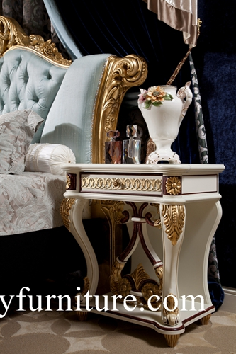 Night Stands Classical Stand Bedside Table Wooden Handcraft Bedroom Furniture Ab 301