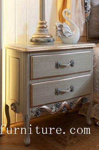 Night Stands Classical Stand Bedside Table Wooden Handcraft Bedroom Furniture Fn 103