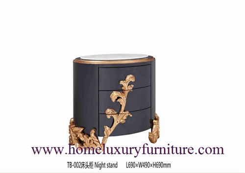Nightstands Bedside Table Classical Night Stands Wooden Handcraft Bedroom Furniture Tb 002