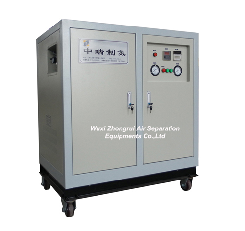 Nitrogen Generator Zr 5a With Air Dryer And Precision Filters