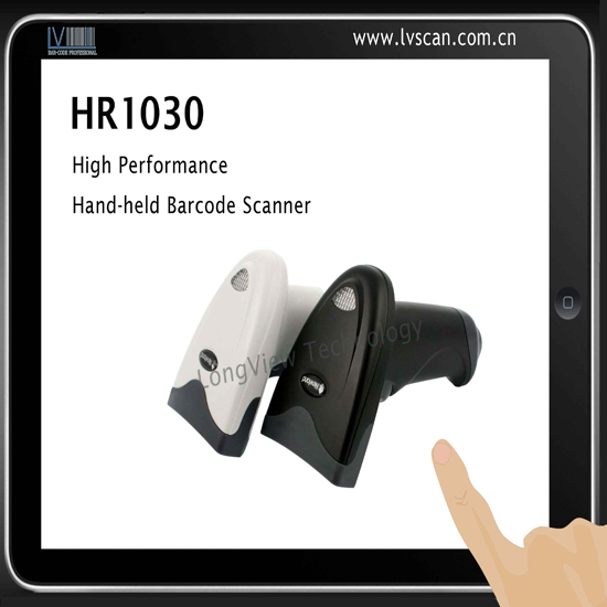 Nls Hr1030 Series Hand Held Ccd Barcode Printer Scanner