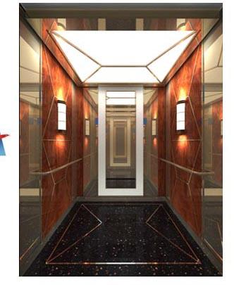 No10 Hotel Elevator Decoration