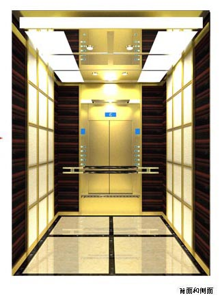 No4 Hotel Elevator Decoration