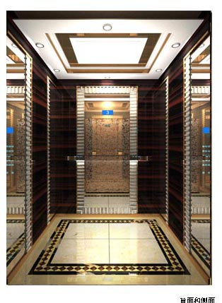 No5 Hotel Elevator Decoration