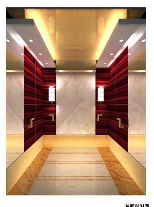 No7 Hotel Elevator Decoration