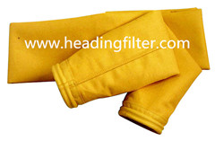 Nomex Aramid Nonwoven Needle Felt Filter Bag