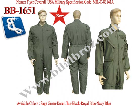 Nomex Flyer Suit Coveralls