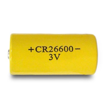 Non Rechargeable High Capacity Cr26600 3v 6000mah Cylindrical Limno2 Battery For Led Torch Co Alarm