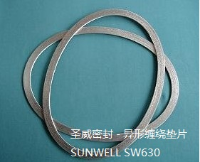 Non Rounded Spiral Wound Gaskets