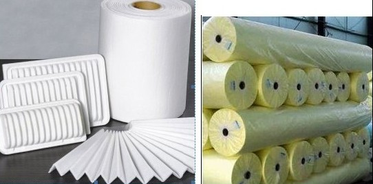 Non Woven Material Filter Media Pp Pet Other