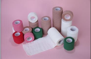 Nonwoven Elastic Cohesive Bandage