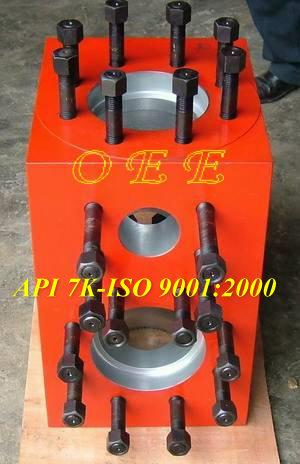 Oee Gardner Denver Pz 7 Triplex Mud Pump Fluid Cylinder Assy