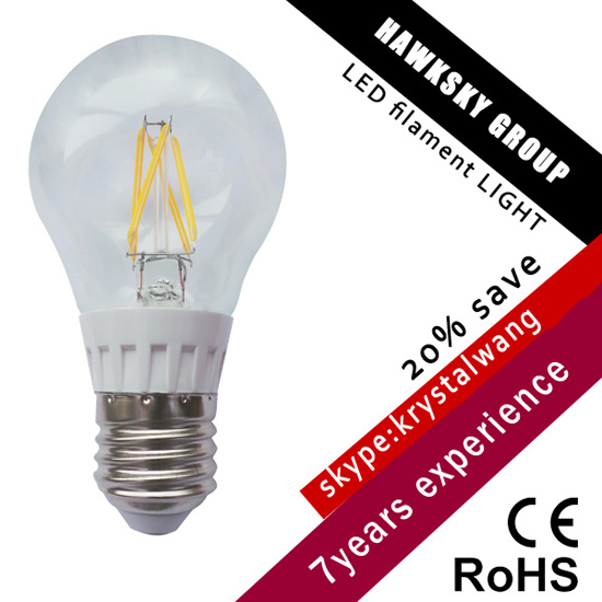 Oem Accept Cutomer Design Fashionable Led Filament Bulb Factory