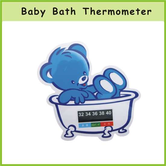 Oem Cartoon Shape Color Change Baby Bath Thermometer
