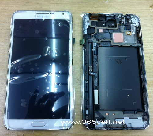 Oem New Lcd And Digitizer Assembly With Frame For Samsung Galaxy Note 2 N7100