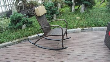 Offer Hot Sale Cheap Garden Rattan Swing Chair Esr 8496
