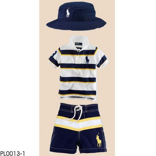 Offer Polo Boy S Clothing Set Wholesale Children Clohting