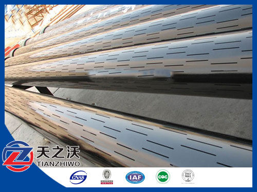 Oil Filter Screen Pipe Slotted Sieve Tubes