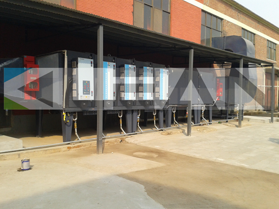 Oil Mist Purification Equipment Electrostatic Precipitator For Industry Recycling