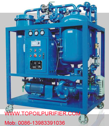 Oil Purifier Machine For Seriously Emulsified Turbine Series Ty Filtration Gas Recycle