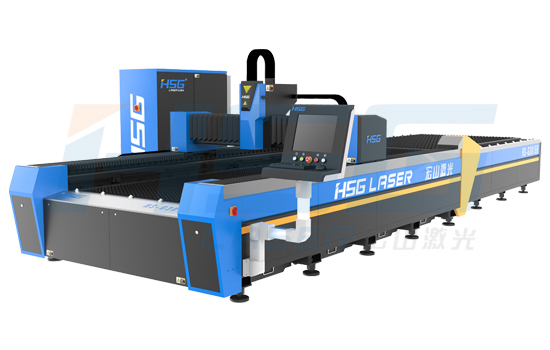 Open Design And High Speed Fiber Laser Cutting Machine Hs G3015b