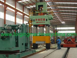 Open Die Hydraulic Forging Press