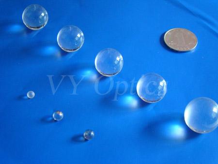 Optical Bk7 H K9l Glass Spherical Ball Lens Sphere Half