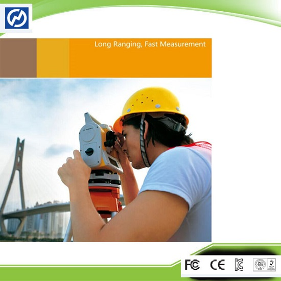 Optical Instruments Reflectorless Surveying Equipment Total Station