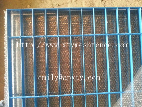 Orange Powder Coated Steel Grates