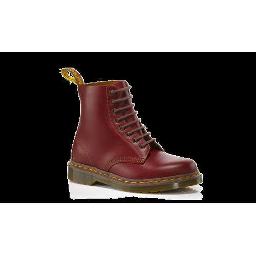 Original Dr Martens Vintage 1460 Oxblood Quilon Boot R12308601