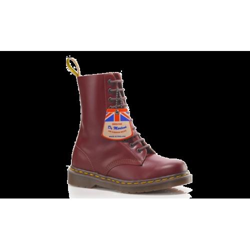 Original Dr Martens Vintage 1490 Oxblood Quilon Boot R12309601