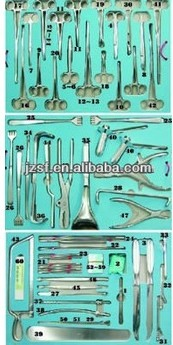 Orthopedics First Aid Operation Surgical Instrument Set