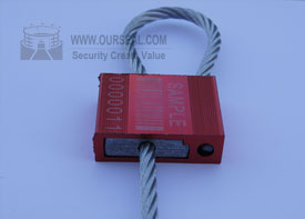 Os6003 Security Seals Cable Cheapest Pull Tight Container