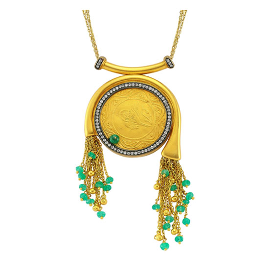 Ottoman Collection Gold Necklace Original Design