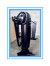 Outboard Landing Gear Supporting Leg For Semi Trailer