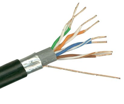 Outdoor Ftp Cat5e Lan Networking Cable