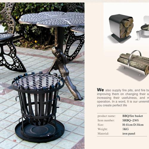 Outdoor Metal Fire Box