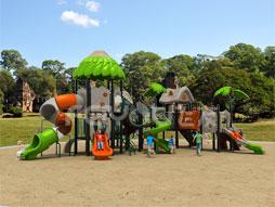 Outdoor Playground Equipment Plastic Slide Fy01801