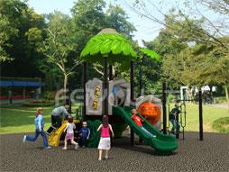 Outdoor Playground Equipment Plastic Slide Fy01901