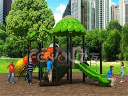 Outdoor Playground Equipment Plastic Slide Fy02001