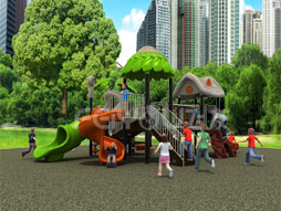 Outdoor Playground Equipment Slide For Kids Fy02201