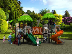 Outdoor Playground Equipment Slide For Kids Fy02601