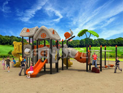 Outdoor Playground Equipment Slide For Kids Fy02901