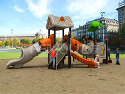 Outdoor Playground Equipment Slide For Kids Fy03101