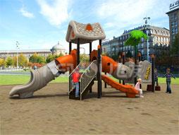 Outdoor Playground Equipment Slide For Kids Fy03101