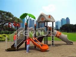Outdoor Playground Equipment Slide For Kids Fy03201